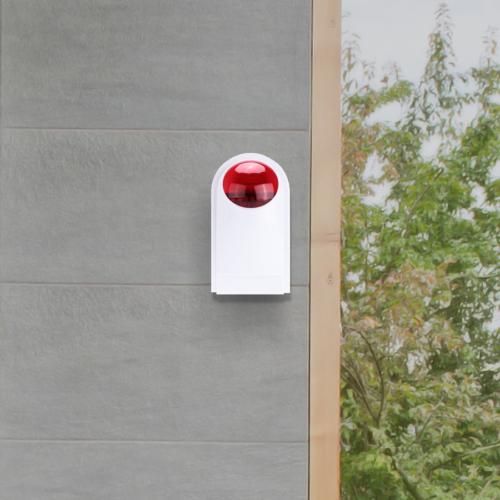 smart home beveiliging extra sirene