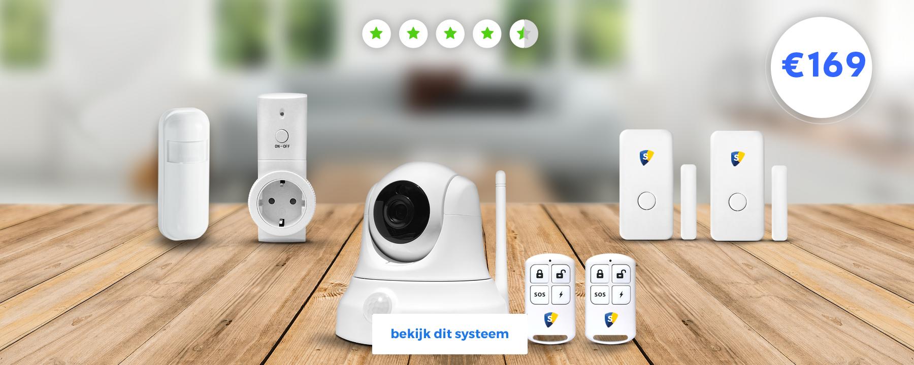 smart home beveiliging plus pakket alarm systeem