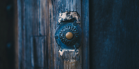 oude deurbel zonder camera