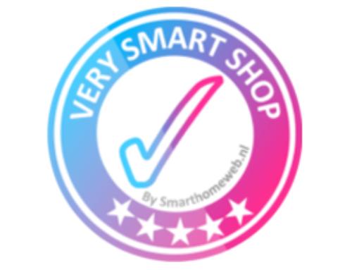 Smart Home Beveiliging wint Very Smart Shop Award™!