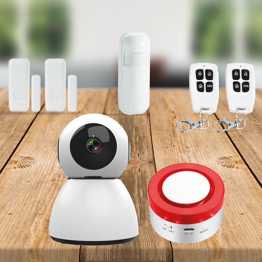 smart home beveiliging plus pakket alarm
