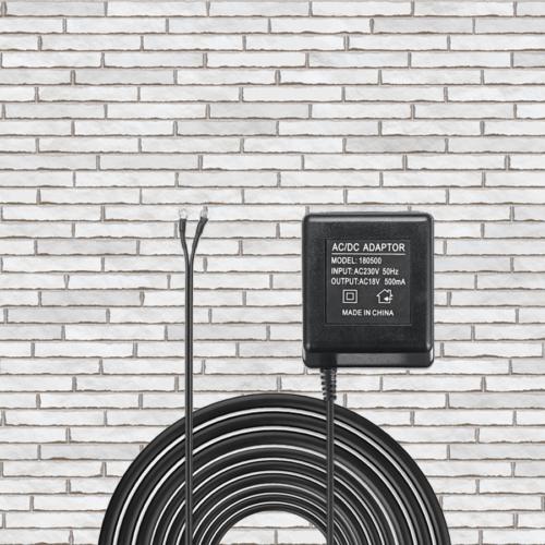 adapter deurbel slimme deurbel voeding volt trafo