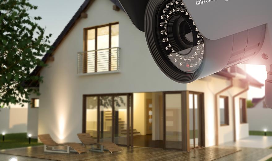 Beveiligingscamera thuis