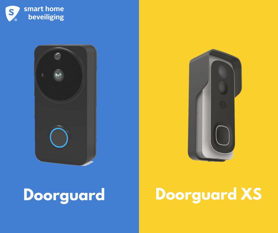 volledige controle met Doorguard en doorguard xs1